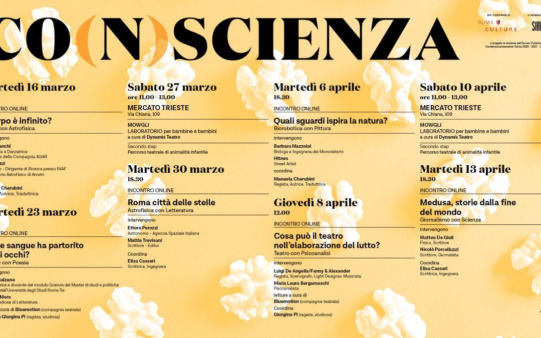 CO(N)SCIENZA seconda edizione, un progetto di ANGELO MAI